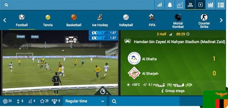 ติดตามกีฬาโปรดของคุณได้ทุกแมตช์ใน www.1xBetClub.com